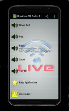 Brazilian FM Radio Stations screenshot 1
