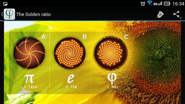 The Golden ratio apk screenshot