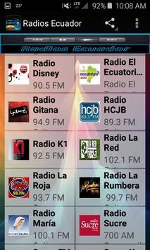 Radios Ecuador screenshot 2