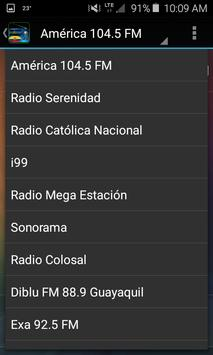 Radios Ecuador screenshot 4