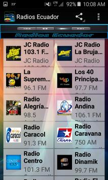 Radios Ecuador screenshot 5