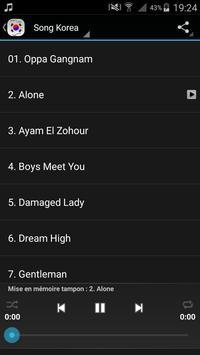 Best Korea Song اغاني كورية apk screenshot