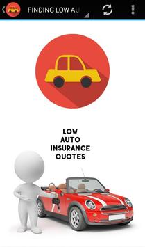 Low Auto Insurance Quotes poster
