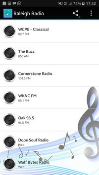 Raleigh Radio apk screenshot