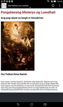 Santo Rosaryo apk screenshot
