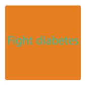 Fight diabetes icon