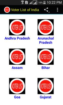 Voter List of India poster