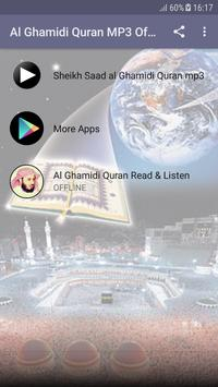 Al Ghamidi Quran MP3 Offline screenshot 2