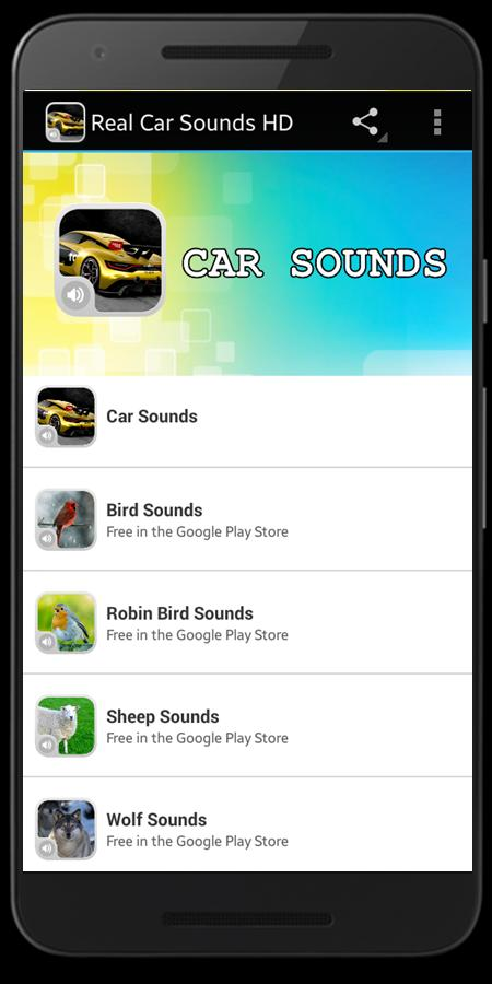 Real Car Sounds HD for Android - APK Download