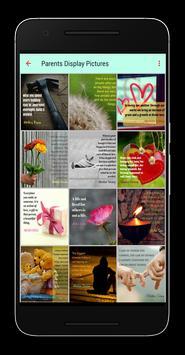 Parents Display Pictures apk screenshot