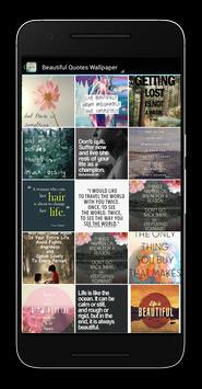 Beautiful Quotes Wallpaper apk screenshot