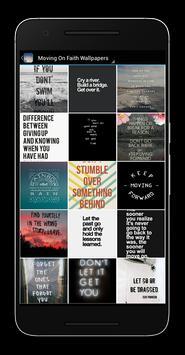 Moving On Faith Wallpapers apk screenshot