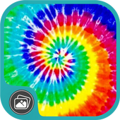 Tie Dye Doodle Wallpaper icon