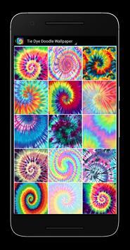 Tie Dye Doodle Wallpaper apk screenshot