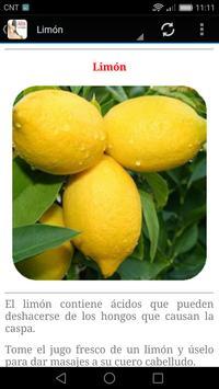 Remedios caseros para la Caspa apk screenshot