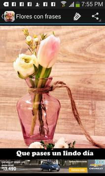 Flores con frases apk screenshot