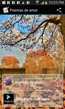 Poemas de amor poster