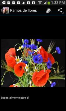 Ramos de flores hermosos apk screenshot