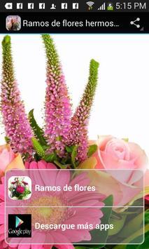 Ramos de flores hermosos poster
