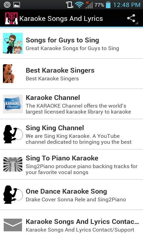 Karaoke Songs And Lyrics for Android - APK Download