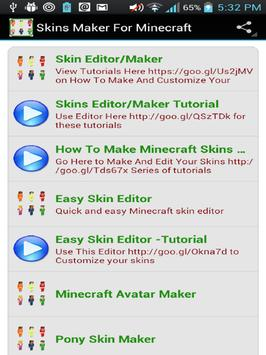 Skin Maker For Minecraft PEPC APK Download Free Tools APP For - Skins para minecraft quick