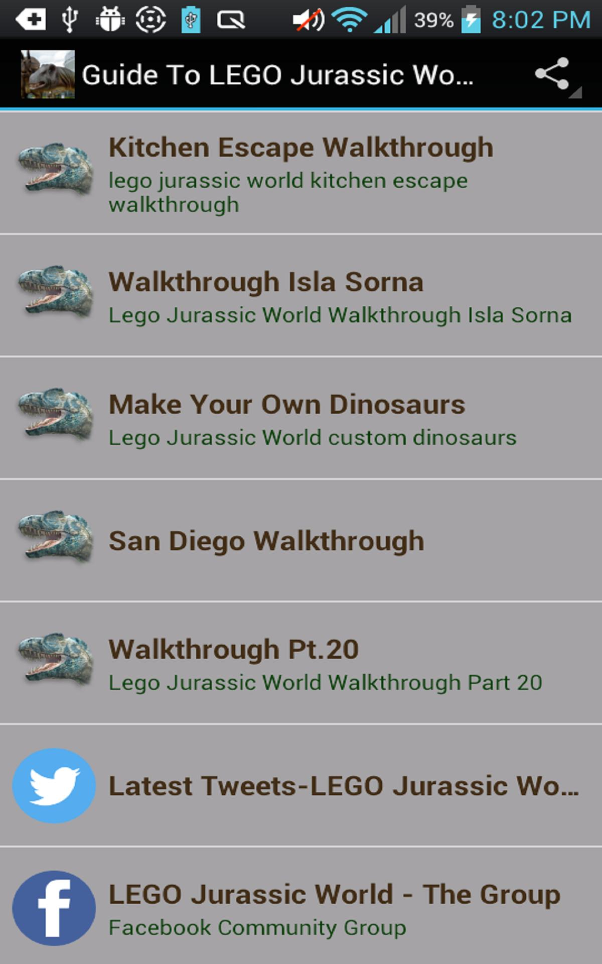 Guide To Lego Jurassic World For Android Apk Download