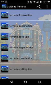 Play Guide for Terraria screenshot 1