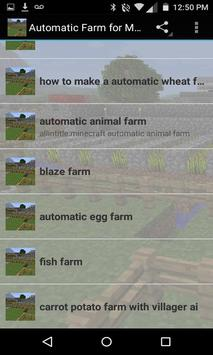 Automatic Farm for minecraft screenshot 1