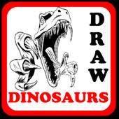 DRAW DINOSAURS icon
