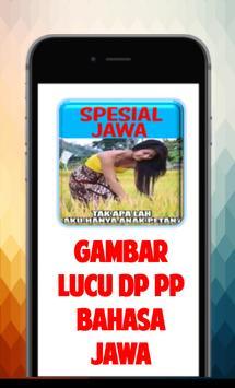 Gambar Lucu DP PP Bahasa Jawa poster