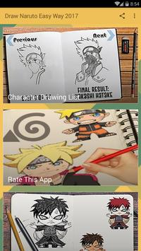 Draw Naruto's Easy Way 2017 Step by Step Tutorial poster