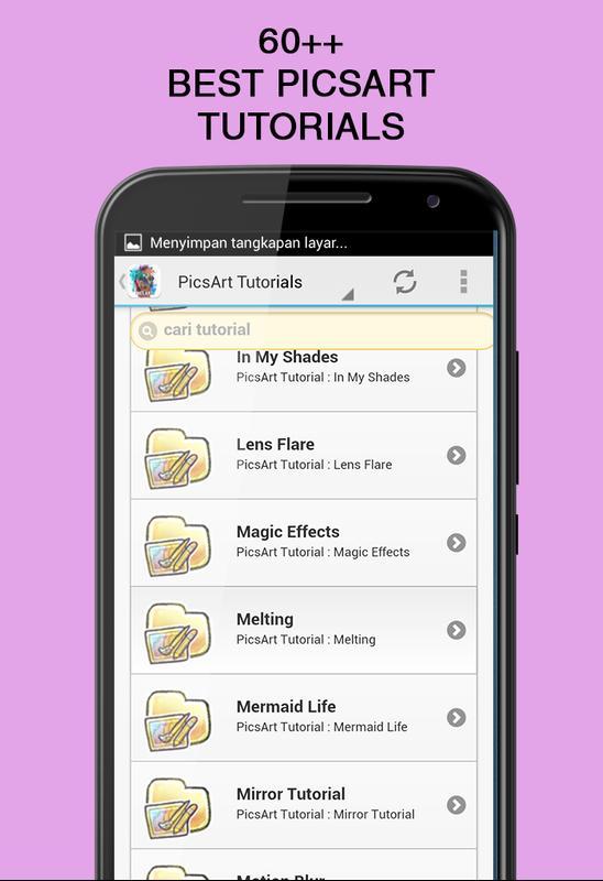 best picsart tutorials for android apk download
