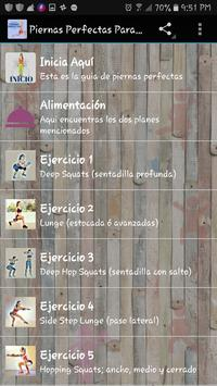 Piernas Perfectas Para Mujeres Ekran Görüntüsü 2