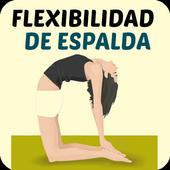 Flexibilidad De Espalda icon