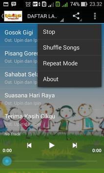 Kumpulan Lagu UPIN dan IPIN apk screenshot