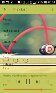 Kumpulan Lagu RAISA Lengkap Terbaru dan Terpopuler apk screenshot