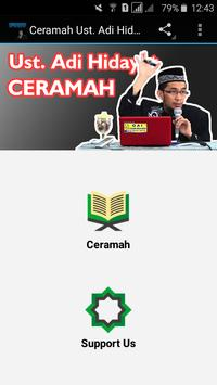 Ceramah Ust. Adi Hidayat poster
