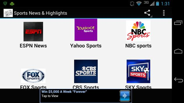 Sports News Highlights For Android Apk Download