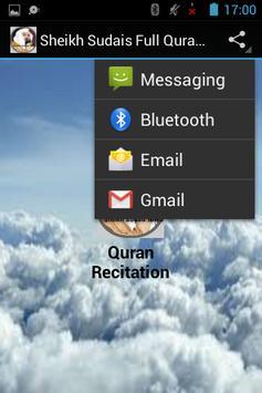 Sheikh Sudais Full Quran MP3 apk screenshot