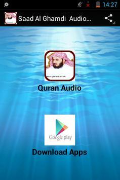 Saad Al Ghamdi Audio Quran poster