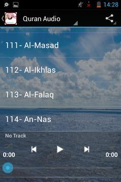 Saad Al Ghamdi Audio Quran apk screenshot