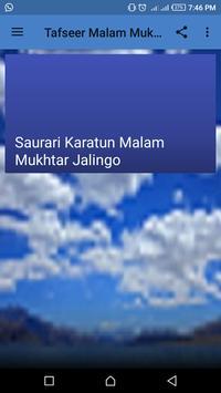 Tafseer Malam Mukhtar Jalingo screenshot 3