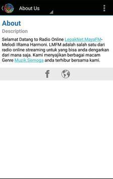 Lepak Net Maya Fm apk screenshot