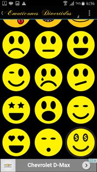 Emoticones graciosos y divertidos gratis apk screenshot