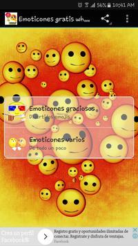 Emoticones para whatsapp poster