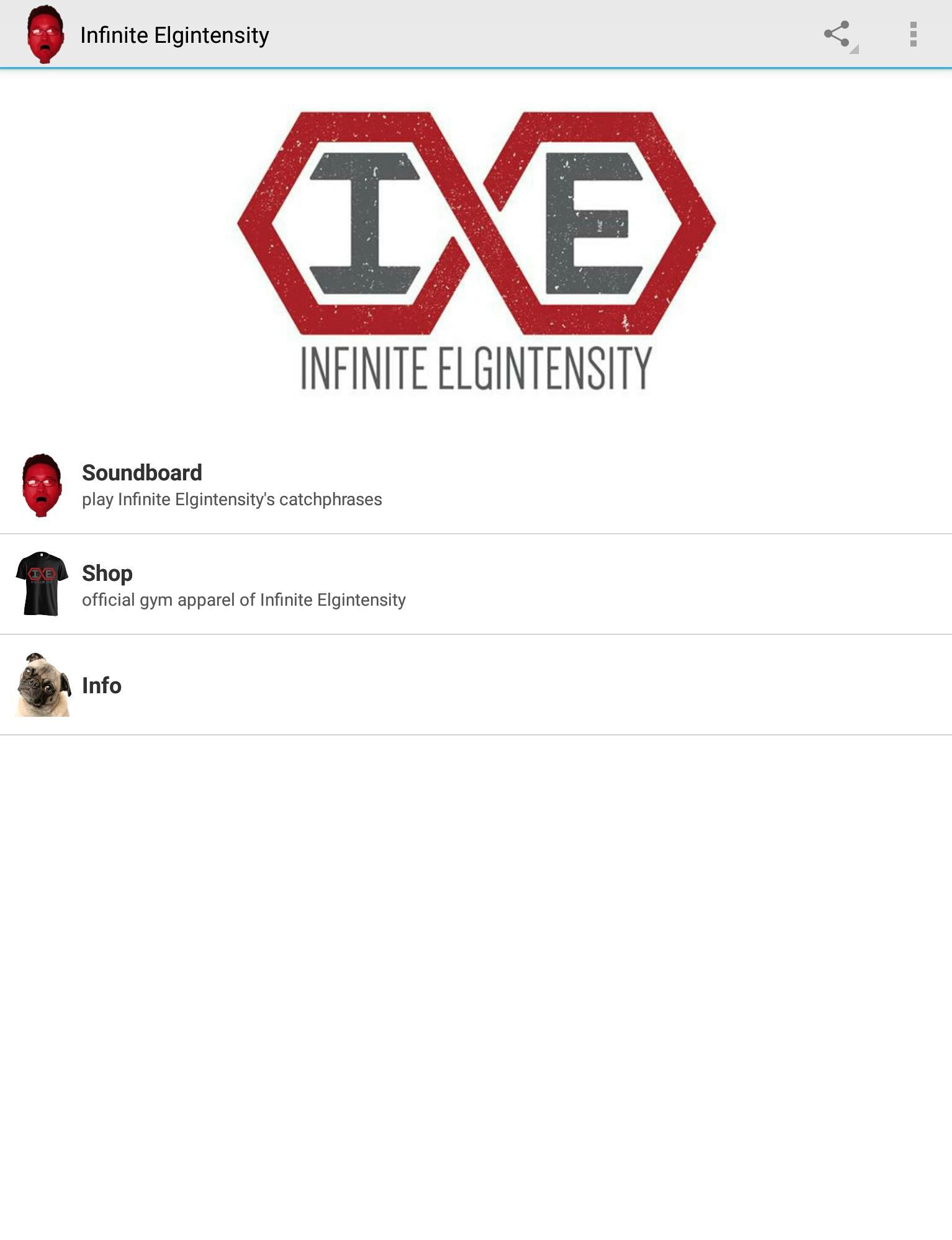 cd6760e0 The Infinite Elgintensity App for Android - APK Download
