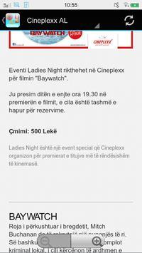 Lajme Shqiptare Cinemas apk screenshot