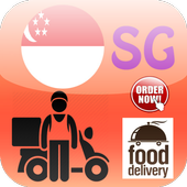 Singapore Food Delivery icon