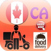 Canada Food Delivery icon