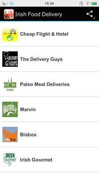 Irish Food Delivery poster